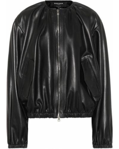 Черная куртка Rochas