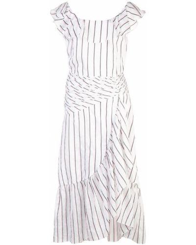Приталенное расклешенное платье миди Jill Stuart