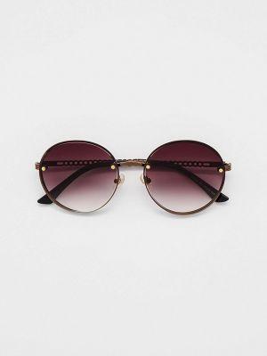 Коричневые солнцезащитные очки Ruxara