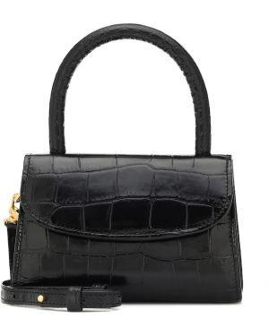 Черная сумка-тоут By Far