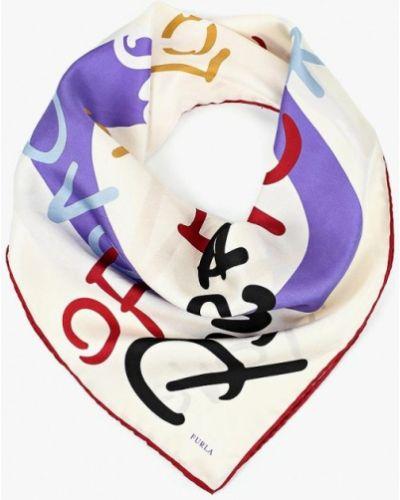 Белый платок носовой Furla