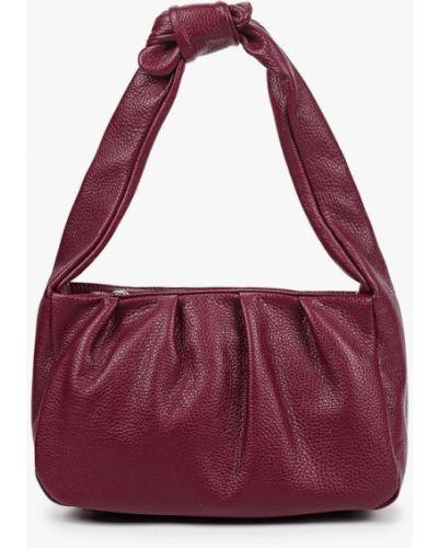 Фиолетовая кожаная сумка Lamania