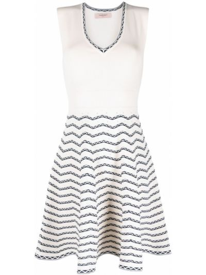 Трикотажное платье Twin-set