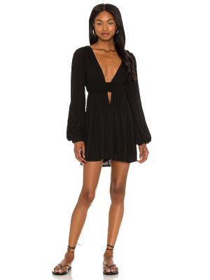 Вечернее платье из вискозы - черное Indah