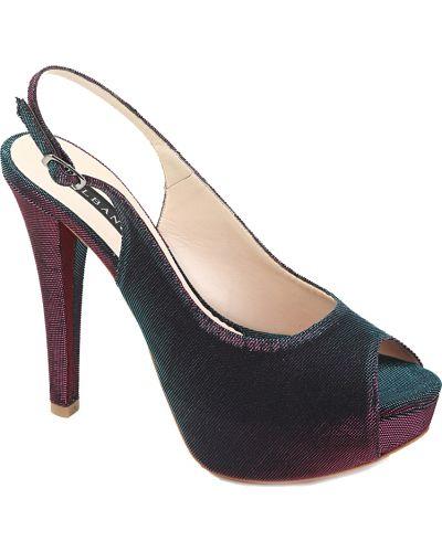 Кожаные босоножки - фиолетовые Albano
