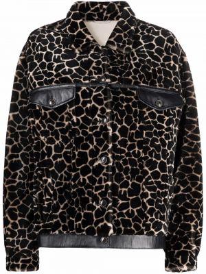Коричневая куртка на пуговицах Simonetta Ravizza