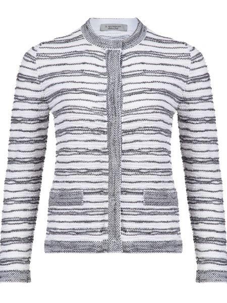 Хлопковый белый пиджак D.exterior