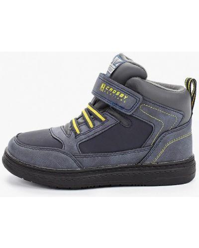 Ботинки синие Crosby