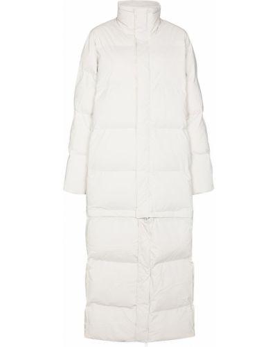 Нейлоновое стеганое белое пальто Rains