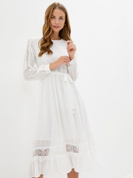 Белое платье B.style