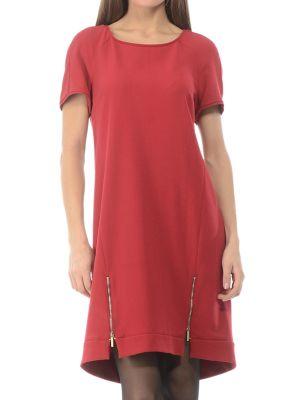 Платье из вискозы - красное Iblues