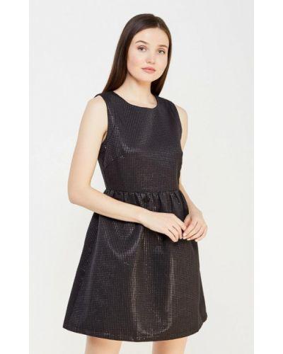 Вечернее платье осеннее черное Lucy & Co.