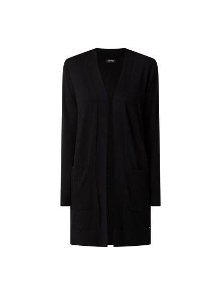Czarny sweter bez zapięcia Tom Tailor Denim