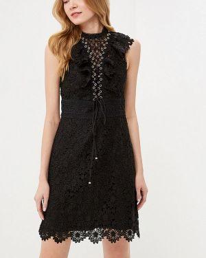 Платье прямое черное Forever New