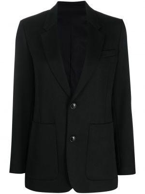Шерстяной пиджак - черный Ami Paris