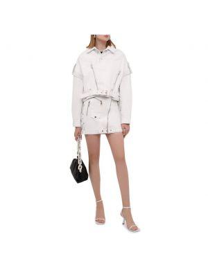 Белая итальянская куртка Manokhi