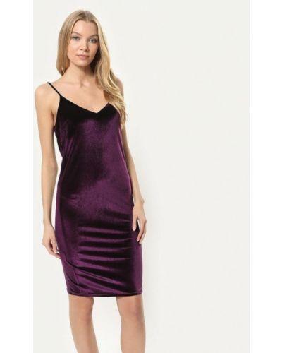Платье осеннее фиолетовый Tutto Bene