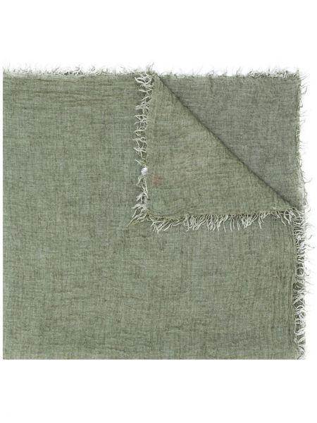 Szalik wełniany - zielony Eleventy