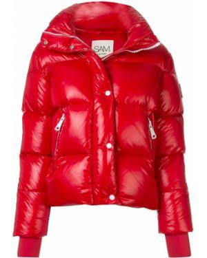Стеганая куртка - красная Sam.
