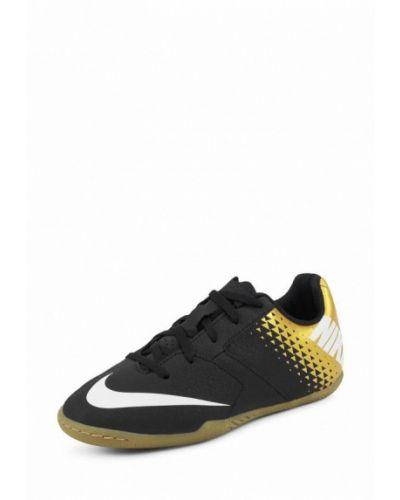 Бутсы кожаный текстильный Nike