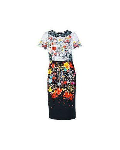 Платье из вискозы - белое Piccione•piccione