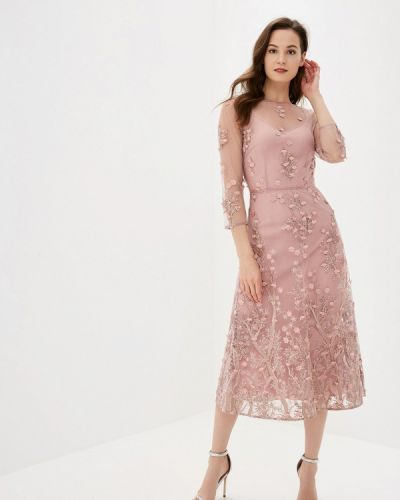 Вечернее платье розовое Ksenia Knyazeva