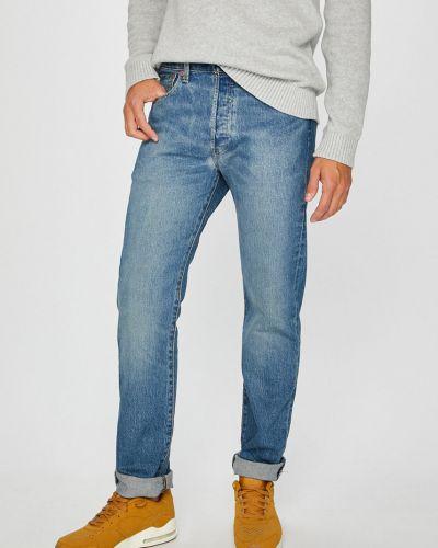 Прямые джинсы на пуговицах с нашивками Levi's®