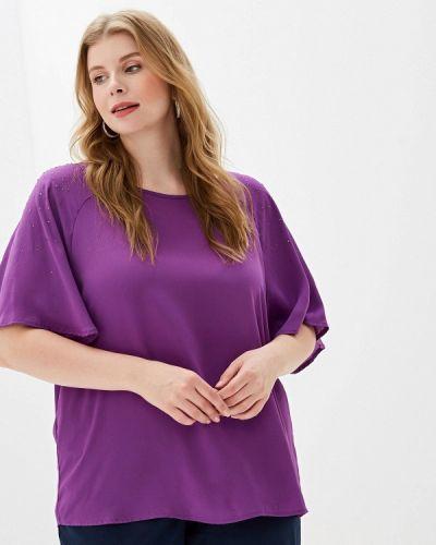 Блузка с коротким рукавом фиолетовый весенний Ovs