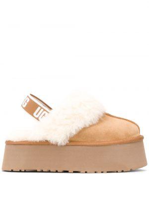 С ремешком кожаные сандалии Ugg