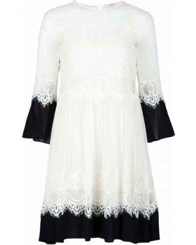 Летнее платье из вискозы ажурное Twin-set