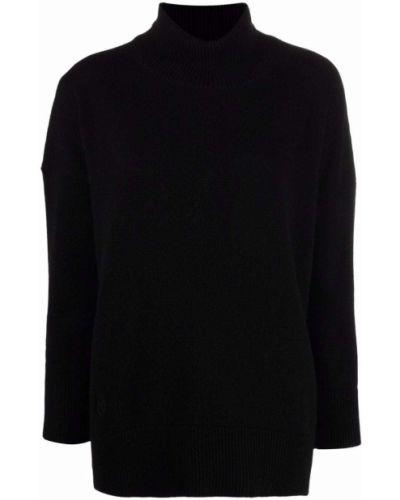 Джемпер с вышивкой - черный Max & Moi
