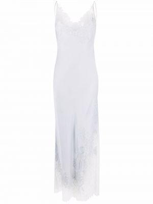 Шелковое платье макси - серое Carine Gilson