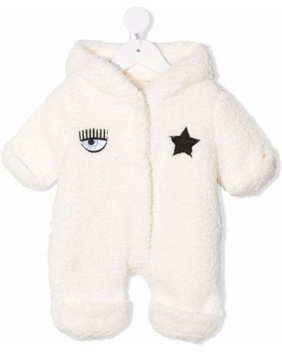 Piżama z długimi rękawami - biała Chiara Ferragni Kids