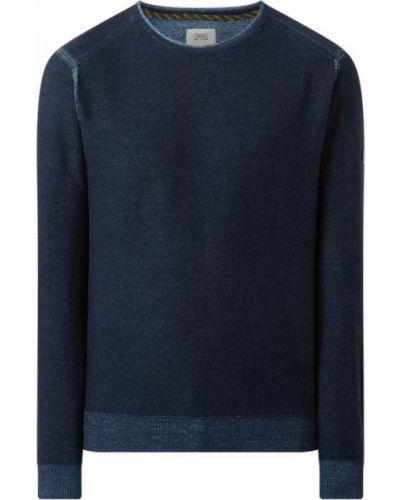 Sweter bawełniany - niebieski Camel Active