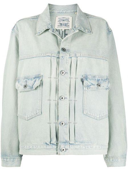 Джинсовая куртка длинная на пуговицах Levi's®  Made & Crafted™