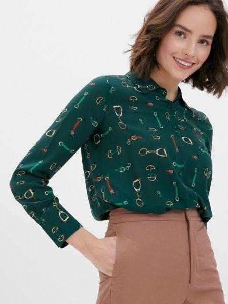 Блузка с длинным рукавом зеленый осенняя Gerry Weber