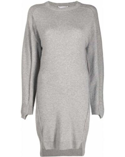 Платье макси длинное - серое Stella Mccartney