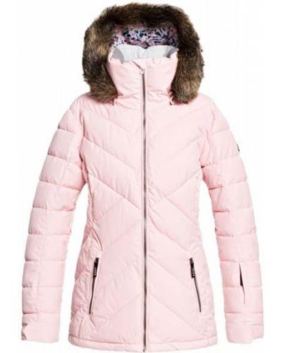Розовая куртка сноубордическая Roxy