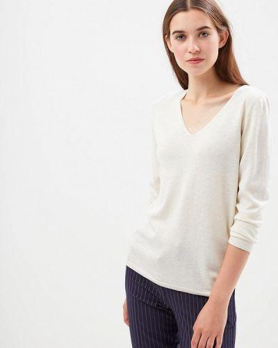 Бежевый пуловер S.oliver