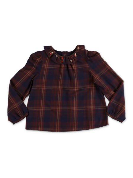 Brązowa bluzka Bonpoint