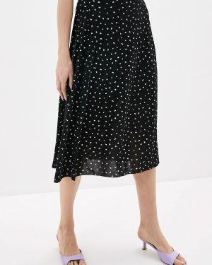 Платье черное весеннее Sela