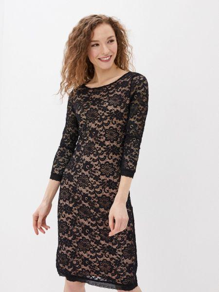 Черное клубное вечернее платье Concept Club