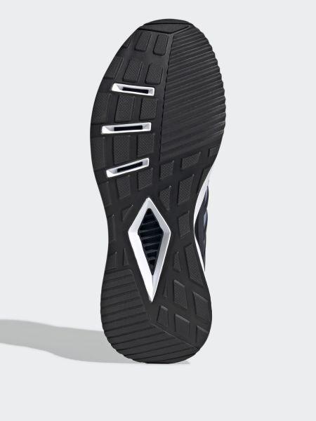 Синие кроссовки сетчатые Adidas