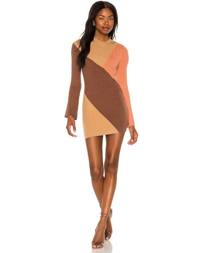 Платье мини короткое - коричневое House Of Harlow 1960