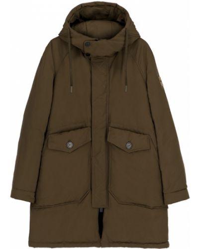 Zielony płaszcz zimowy Oof Wear