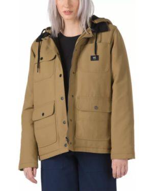 Куртка с капюшоном утепленная вельветовая Vans
