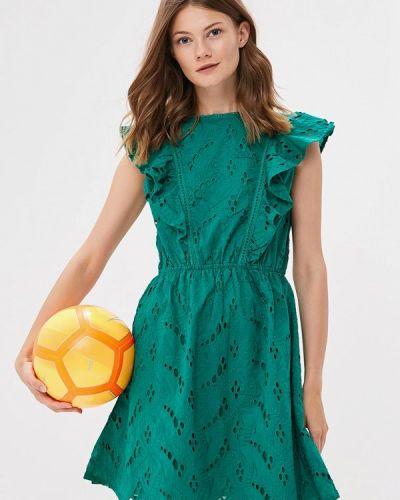 Зеленое платье весеннее Incity
