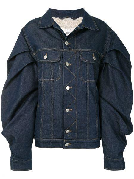Хлопковая джинсовая куртка - синяя Natasha Zinko