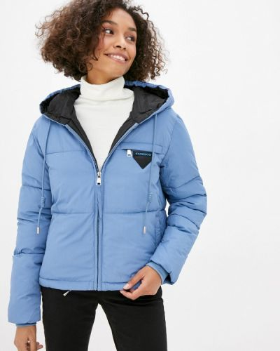 Утепленная синяя куртка Fadjo