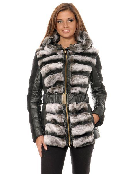 Шерстяная куртка - черная Mor`a